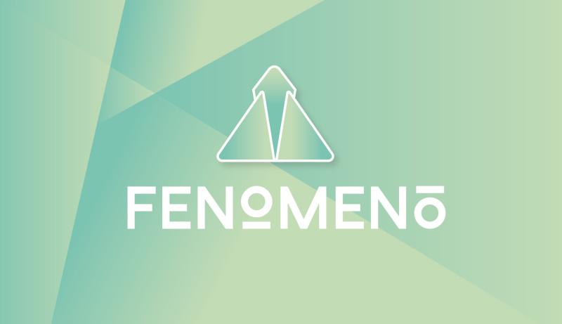 Fenomeno-Farbverlauf-Logo-Design