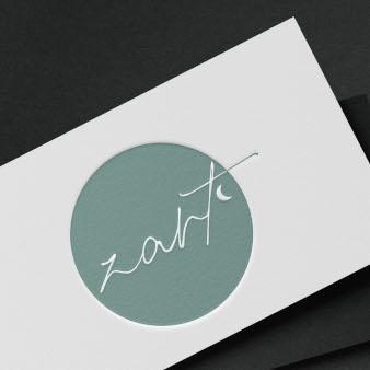 Nachhaltiges-Logo-Design-Zart-Marke