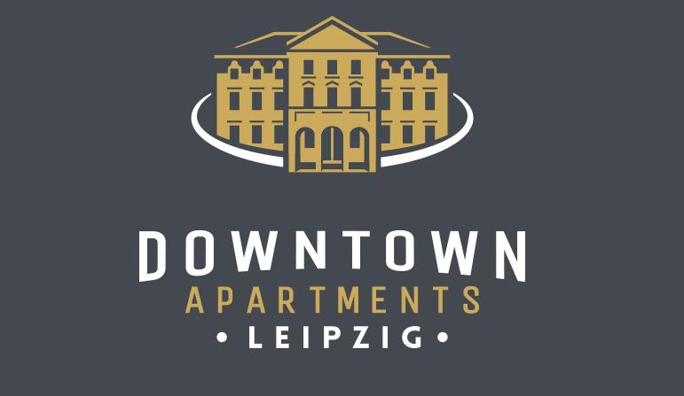 Apartment Logo, Downtown Apartments Leipzig