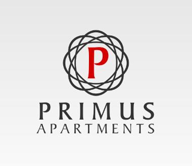 Apartment Logo, Primus Apartments