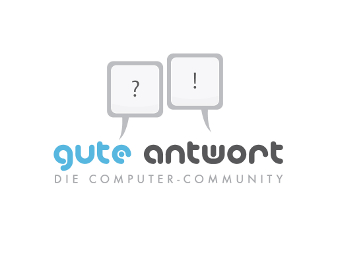 Computer Logo, Gute Antwort