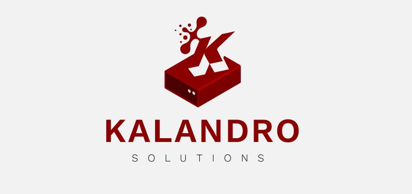 Computer Logo, Kalandro Solutions