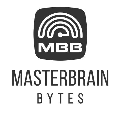 Computer Logo, Masterbrain Bytes