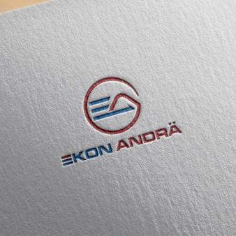 Ekon-Andrae-Logo-Design-fuer-Elektrobetrieb