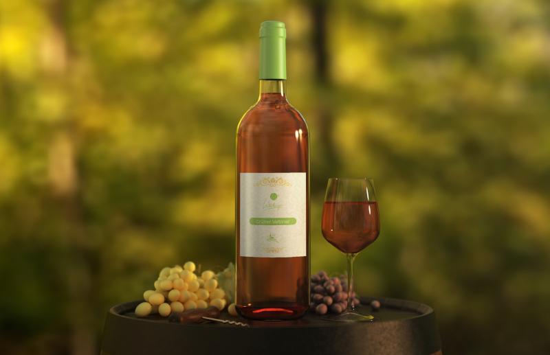 Weidinger Logo für Weinflasche