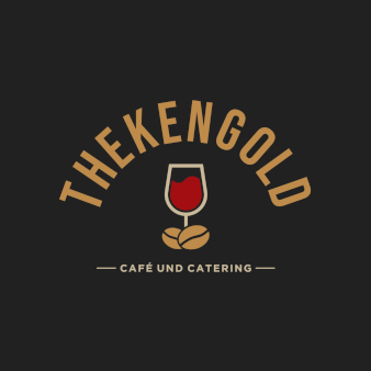 Weinlogo-Thekengold