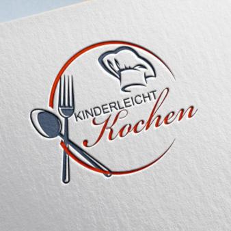 Kinderleichtkochen-Kochblog-Logo-Design