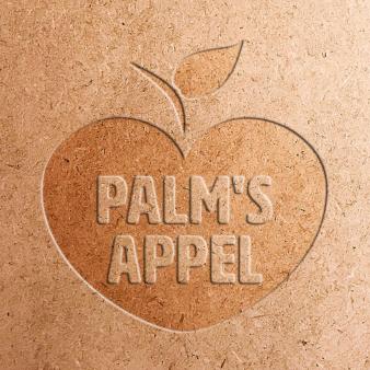 Obstlogo-mit-Apfel-fuer-Palms-Appel