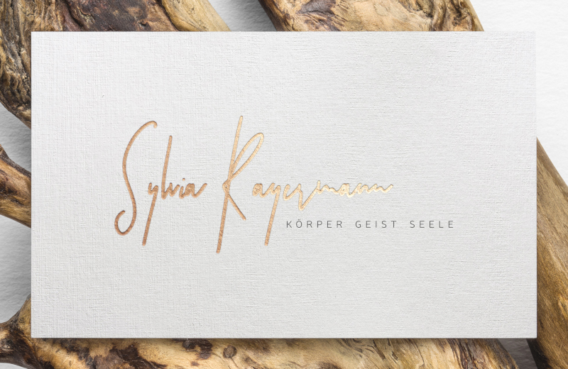 Sylvia-Rayermann-Heilpraktiker-Logo-Design