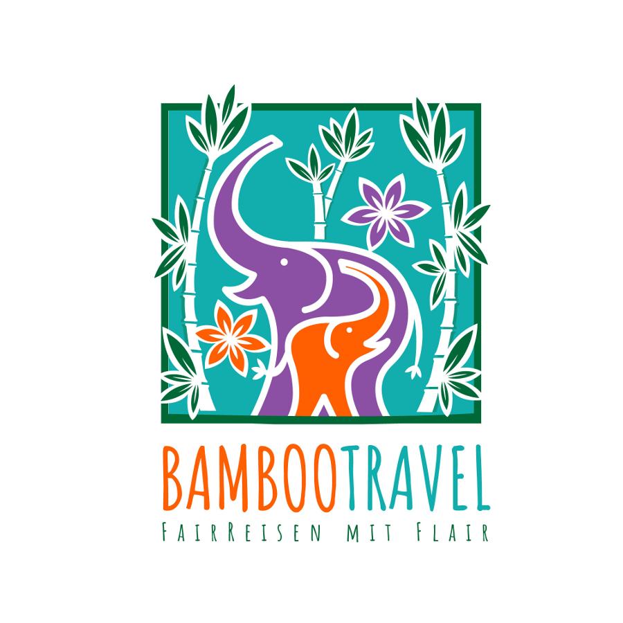 Quadrat Logo für Reiseveranstalter für nachhaltige Reisen in Südostasien