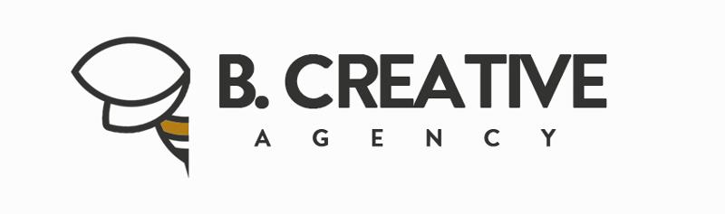 simple Logo, B.CREATIVE Agency
