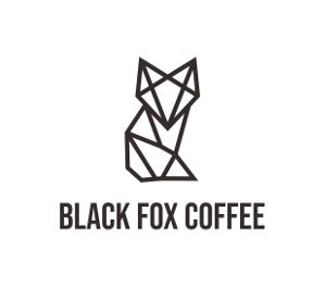 simple Logo, Black Fox Coffee