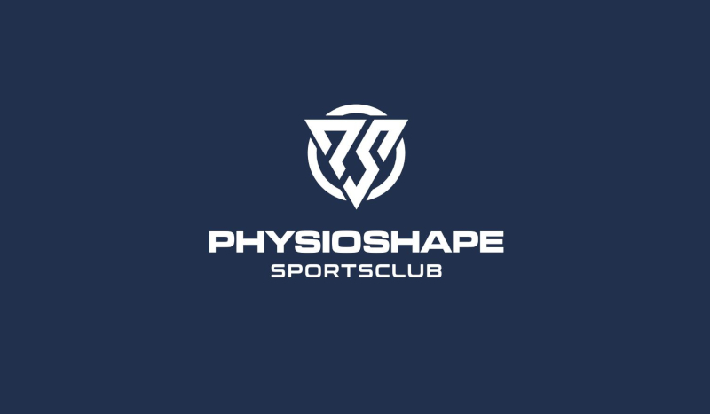 Fitness-Studio-Logo-Design-Physioshape-Sportsclub