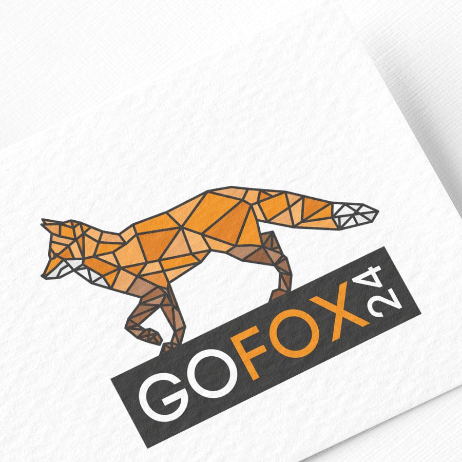 Logo-Design mit Fuchs für goFox24