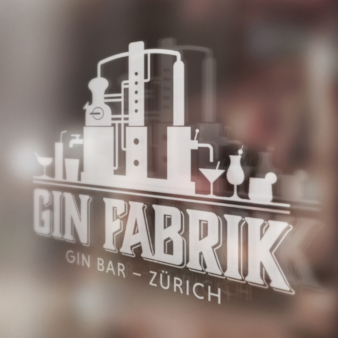 Gin-Fabrik-Logo-Design-trendig