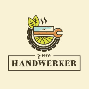 Lokal-zum-Handwerker-Trendlogo