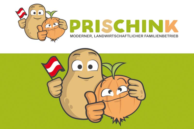 Prischink-Gemuese-Logos