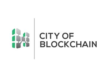 Technologie Logo, City of Blockchain