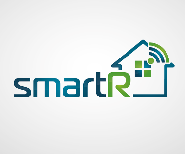 Technologie Logo, smart R