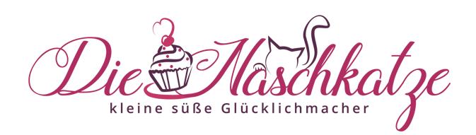 Katzen Logo, die Naschkatze