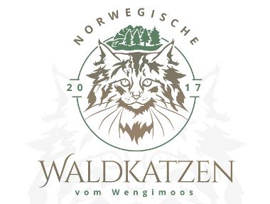 Katzen Logo, Waldkatzen
