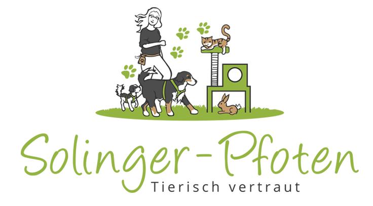 Katzen Logo, Solinger Pfoten