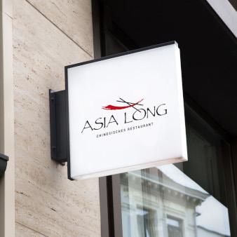 Asia-Long-Lieferservice-Logo-Design-Restaurant