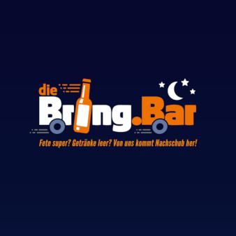 Die-BringBar-Lieferdienst-Logo-Design-fuer-Getraenke