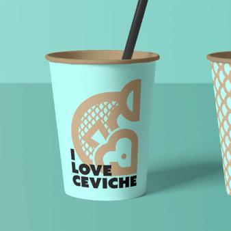 Lieferservice Logo-Design Essen Restaurant