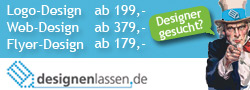 designenlassen.de - Der Design-Marktplatz für Webdesign, Logo-Design, Flyerdesign u.v.m.