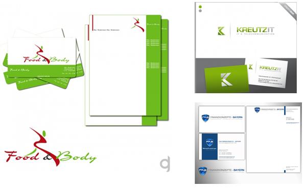 Visitenkarten-Design Beispiele
