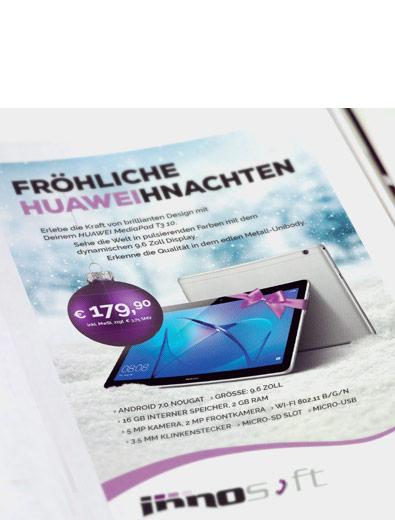 Anzeigengestaltung für Huawei