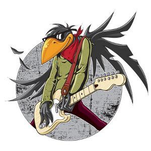 Illustration für Rockband Fat Birds gesucht