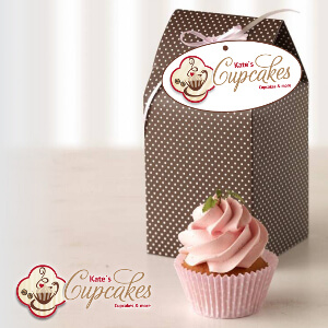 Cupcake und Muffin Café sucht modernes Design