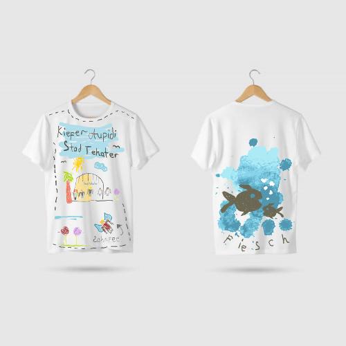 T-Shirt Design für Kieferorthopädie-Praxis