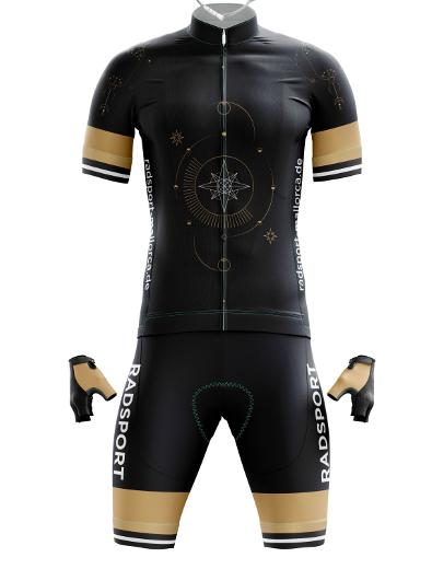 Trikot-Design für Radsport - Bekleidungs-Design-Beispiel