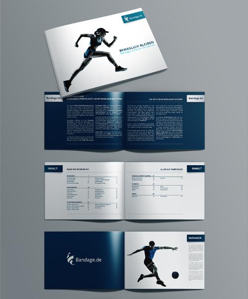 Beilege-Broschüre für Online-Versand