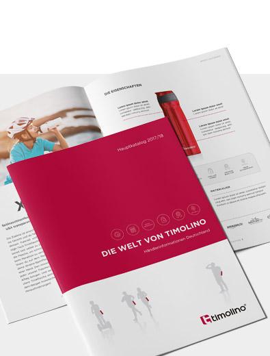 Broschüren-Design für Premium-Marke - Broschüren-Design Beispiel
