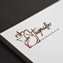 Café & Bäckerei Logo für Stögmüller