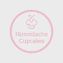 Café Logo mit himmlischen Cupcakes