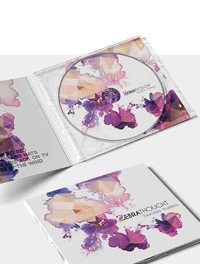 Kreatives CD-Cover-Design zu fairen Preisen