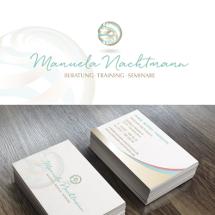 Logo- und Visitenkarten-Design für Coaching
