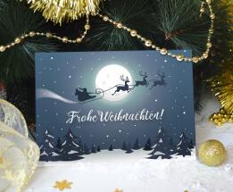 Weihnachtskarten-Designs für Online-Druckerei