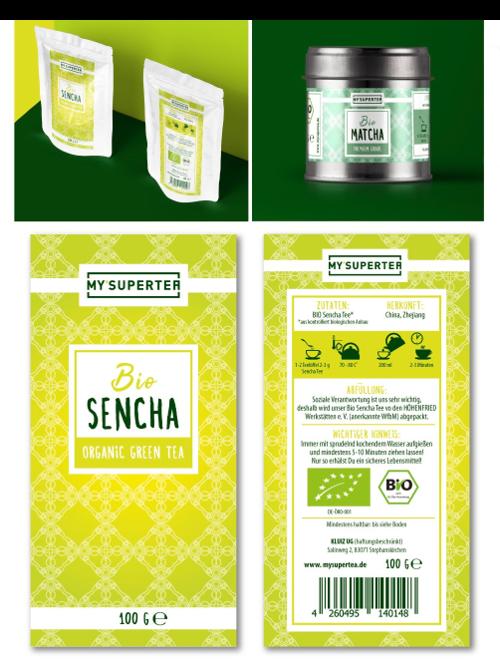 Premium Tee sucht hochwertiges Etiketten-Design