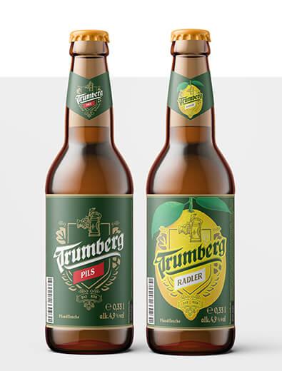 Etikettendesign für Bier - Etiketten-Design Beispiel