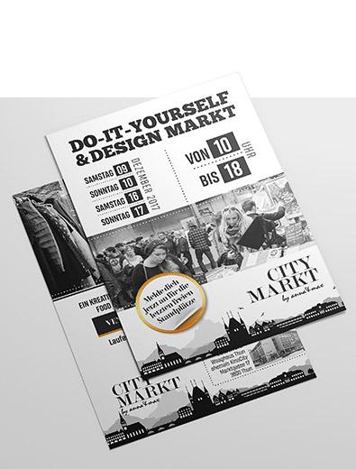 Repräsentatives Flyer-Design zum bezahlbaren Preis erstellen lassen