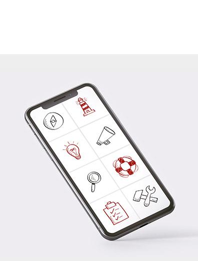 Icon-Design für Seminare - Icon-Design Beispiel