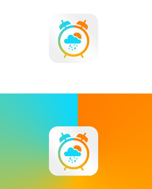 Wecker-Icon für Outdoor-Begeisterte
