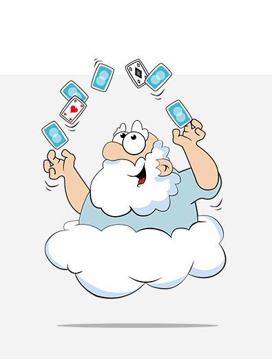 Illustration für Wolke - Illustration-erstellen Beispiel
