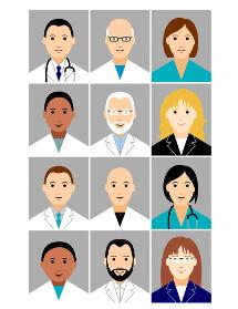 Illustrationen für Krankenhaus-Intranet-Prototypen
